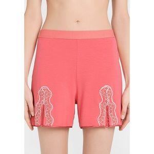 La Perla WILDFLOWER cotton jersey pajama shorts